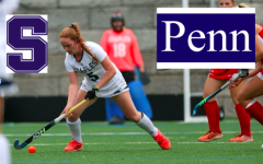 Emma Nahon '23 has committed to University of Pennsylvania for field hockey. Nahon currently plays for the Staples girls' varsity field hockey team.