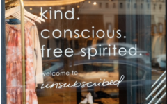 New sustainable clothing store, Unsubscribed, opened next to Benefit in downtown Westport.